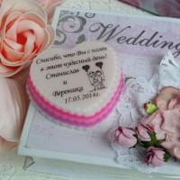 Мыльные бонбоньерки на свадьбу