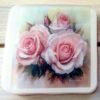 """Мыло-открытка """"Розы"""""""