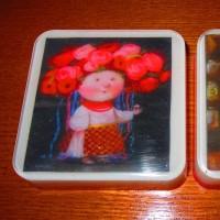 Мыло с картинками Гапчинской