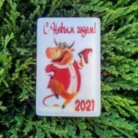 Мыло новогоднее «С Новым годом Быка 2021»